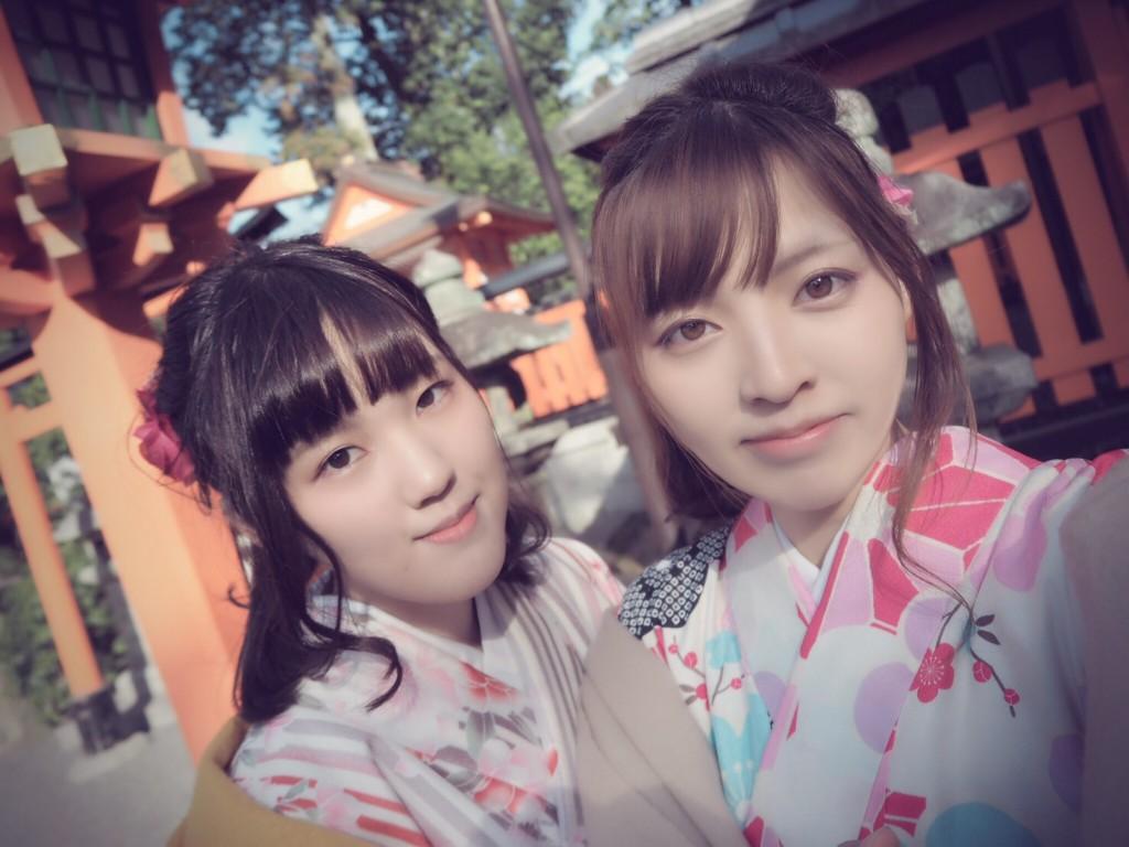 三年ぶりに皆で京都へ卒業旅行♪2017年2月27日24