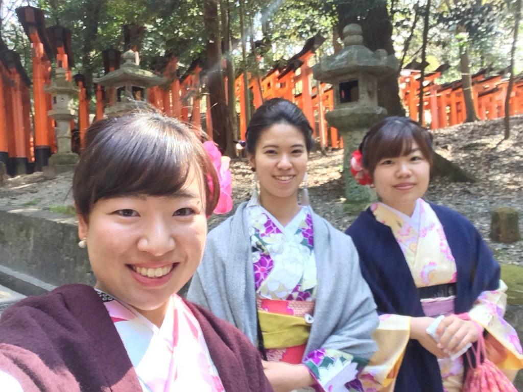 三年ぶりに皆で京都へ卒業旅行♪2017年2月27日26