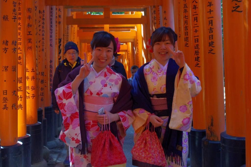 三年ぶりに皆で京都へ卒業旅行♪2017年2月27日27