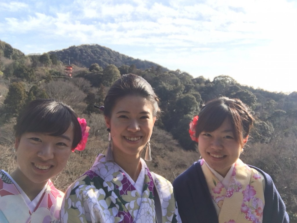 三年ぶりに皆で京都へ卒業旅行♪2017年2月27日29