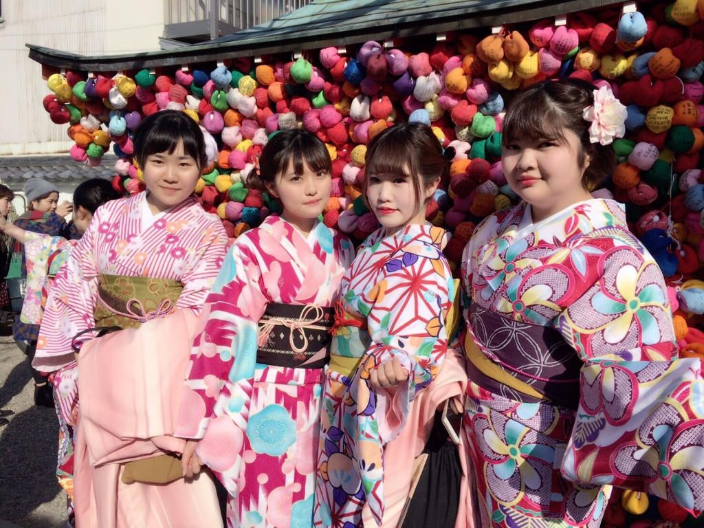 三年ぶりに皆で京都へ卒業旅行♪2017年2月27日30