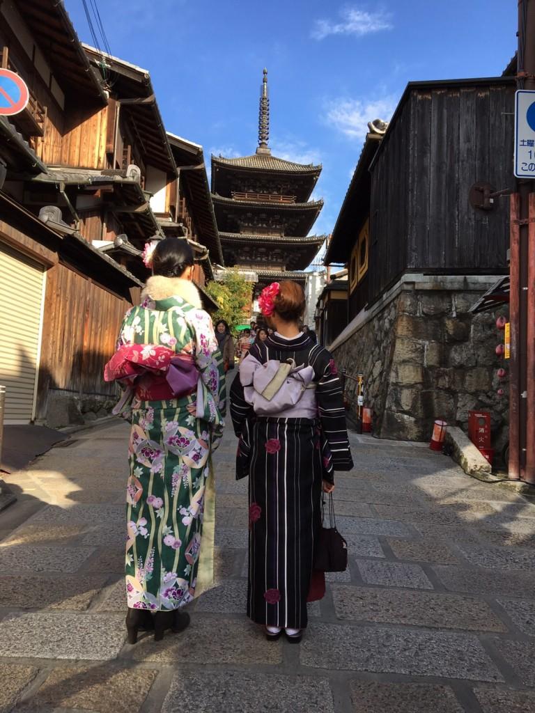 三年ぶりに皆で京都へ卒業旅行♪2017年2月27日33