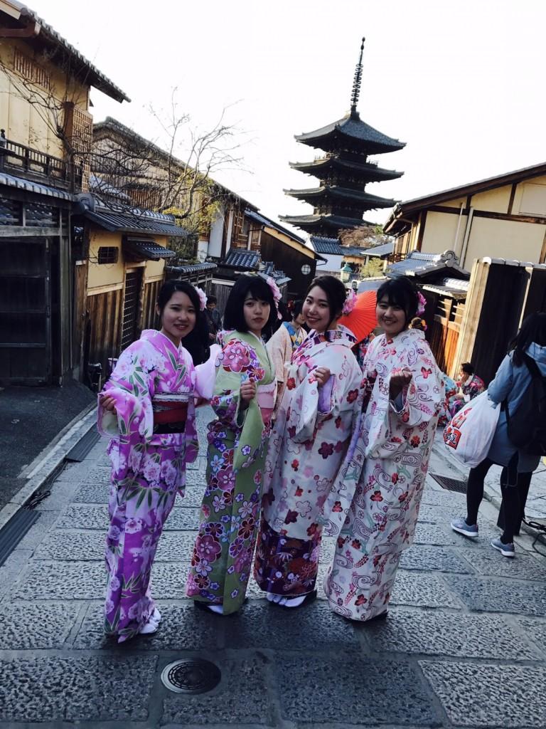 三年ぶりに皆で京都へ卒業旅行♪2017年2月27日34