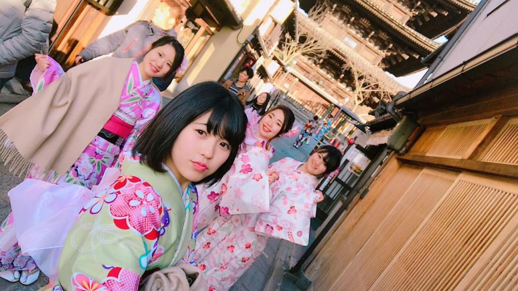 三年ぶりに皆で京都へ卒業旅行♪2017年2月27日35