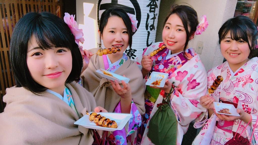 三年ぶりに皆で京都へ卒業旅行♪2017年2月27日37