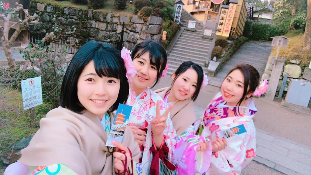 三年ぶりに皆で京都へ卒業旅行♪2017年2月27日38