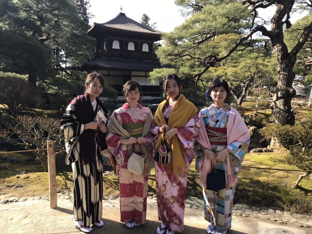 三年ぶりに皆で京都へ卒業旅行♪2017年2月27日39