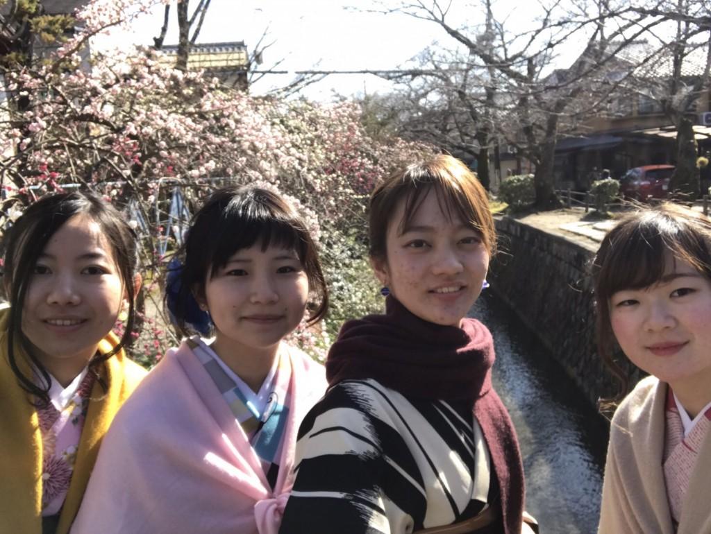 三年ぶりに皆で京都へ卒業旅行♪2017年2月27日40