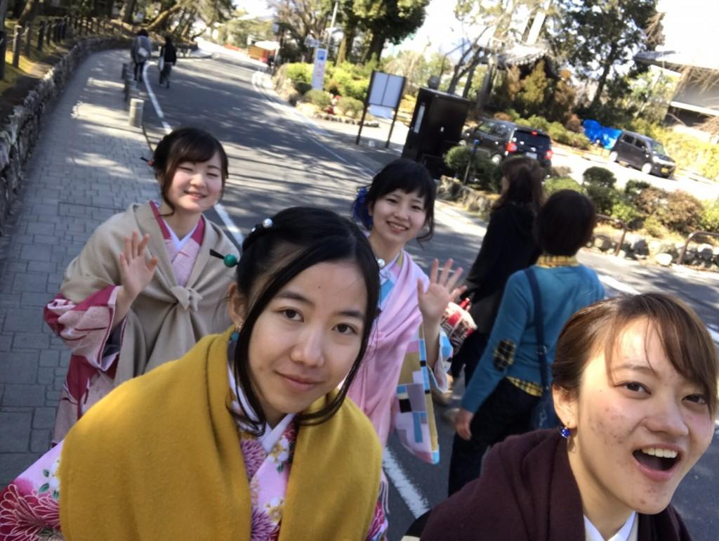 三年ぶりに皆で京都へ卒業旅行♪2017年2月27日41