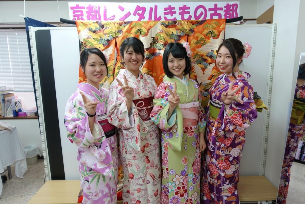 三年ぶりに皆で京都へ卒業旅行♪2017年2月27日19