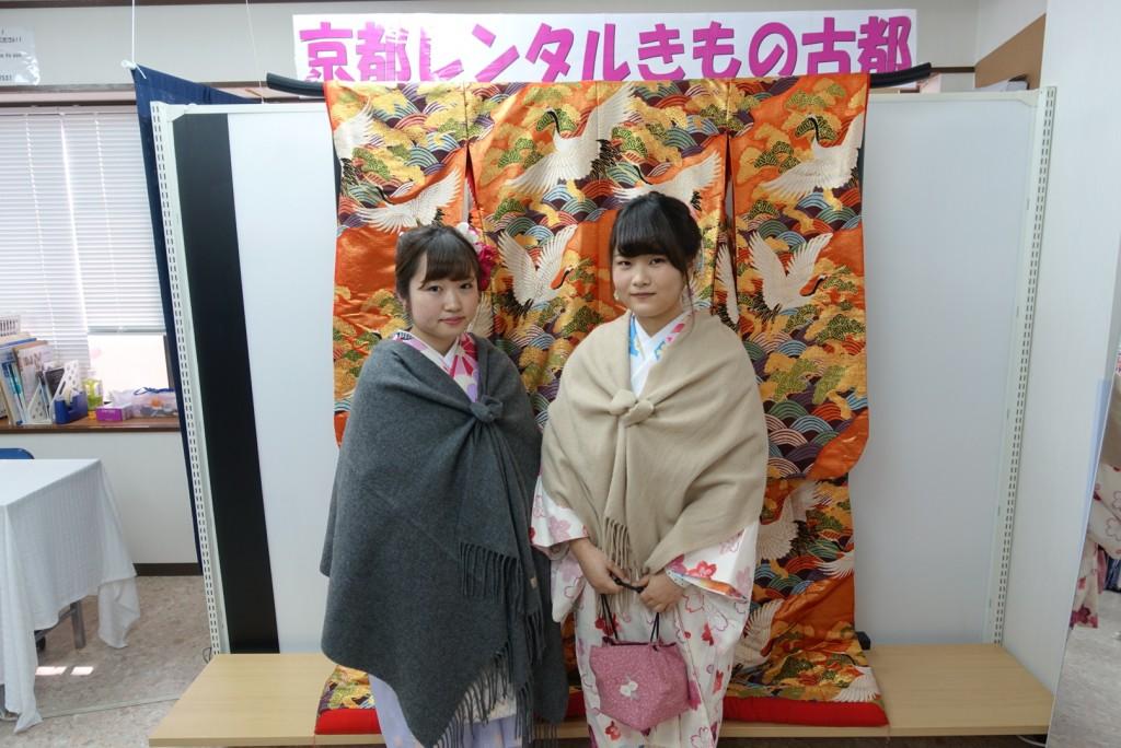 韓国からの留学生❣日本の学生と京都で思い出を❣2017年2月19日8