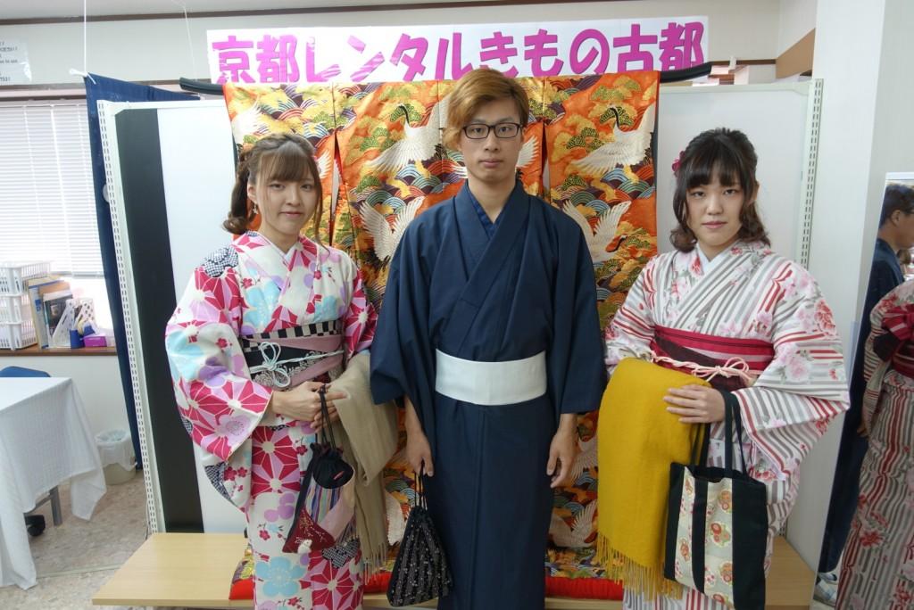 三年ぶりに皆で京都へ卒業旅行♪2017年2月27日12