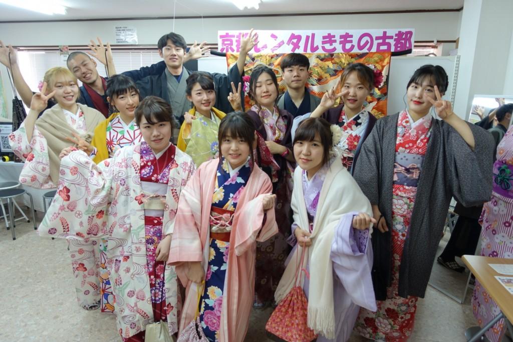 韓国からの留学生❣日本の学生と京都で思い出を❣2017年2月19日5