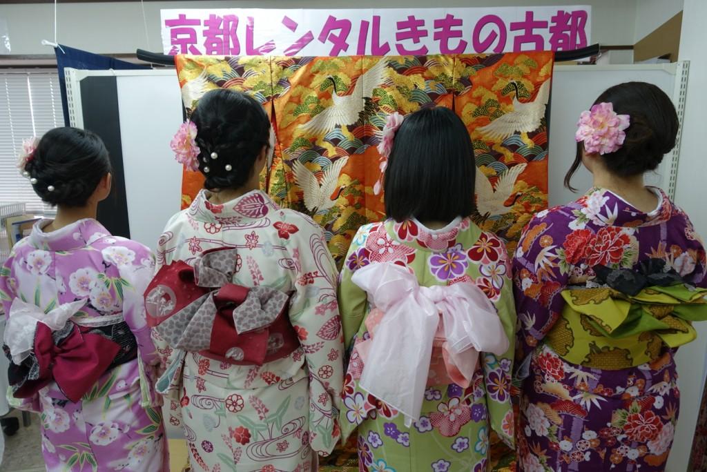 三年ぶりに皆で京都へ卒業旅行♪2017年2月27日20