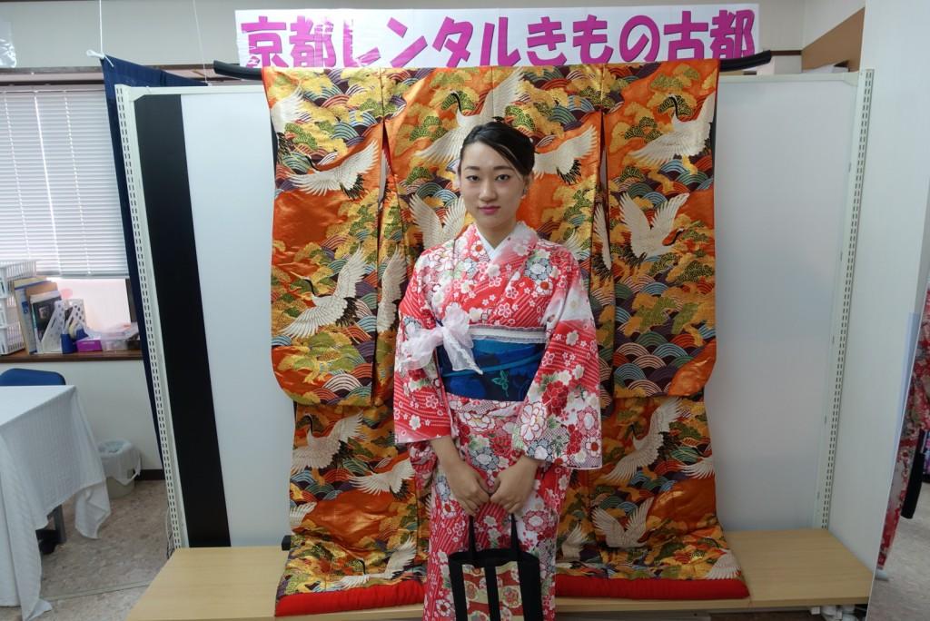 三年ぶりに皆で京都へ卒業旅行♪2017年2月27日9