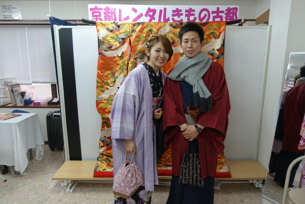 卒業旅行❣山形から京都で着物レンタル♪2017年2月23日4