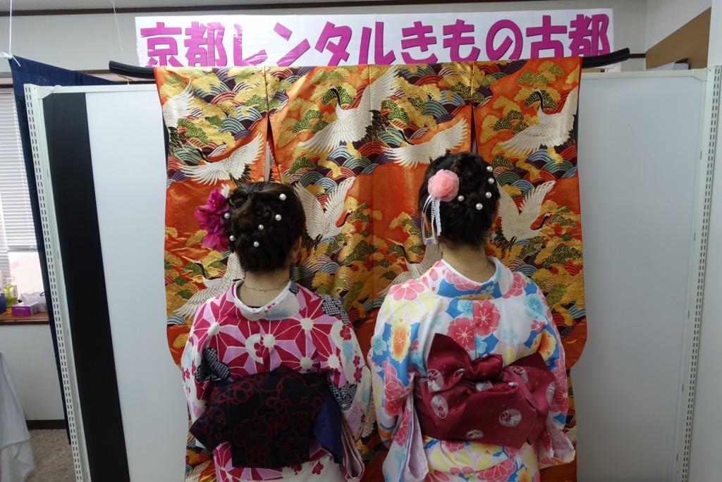 韓国からの留学生❣日本の学生と京都で思い出を❣2017年2月19日7