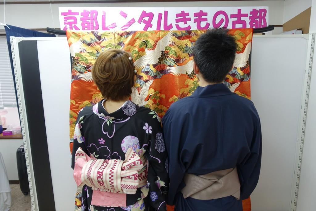 卒業旅行❣山形から京都で着物レンタル♪2017年2月23日3