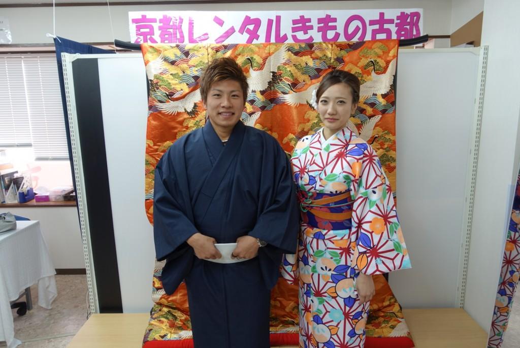 中国から日本の思い出に京都で着物レンタル♪2017年2月25日8