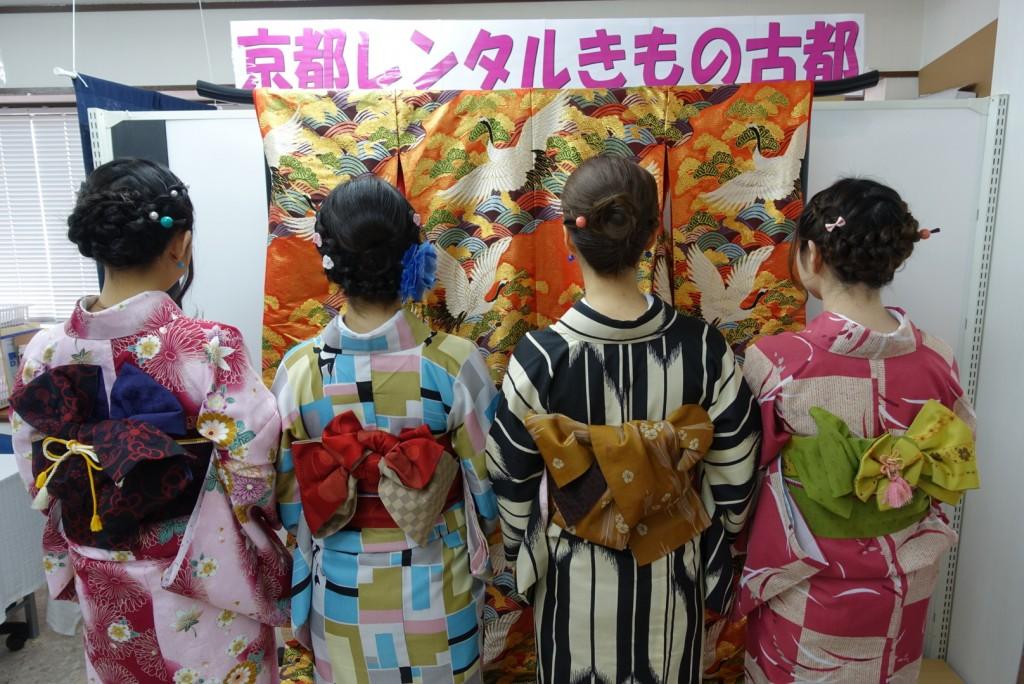 三年ぶりに皆で京都へ卒業旅行♪2017年2月27日5