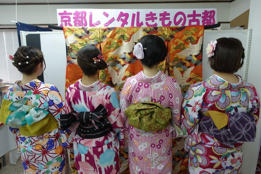 三年ぶりに皆で京都へ卒業旅行♪2017年2月27日17
