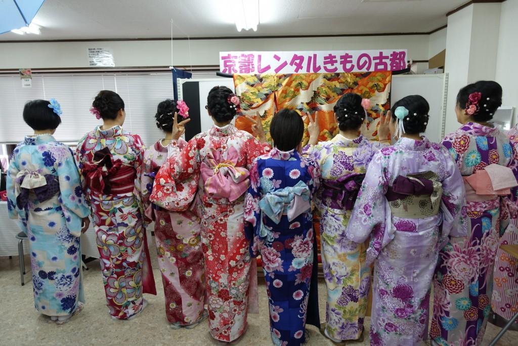 中国から日本の思い出に京都で着物レンタル♪2017年2月25日6