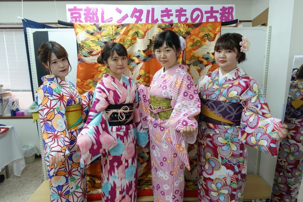 三年ぶりに皆で京都へ卒業旅行♪2017年2月27日16