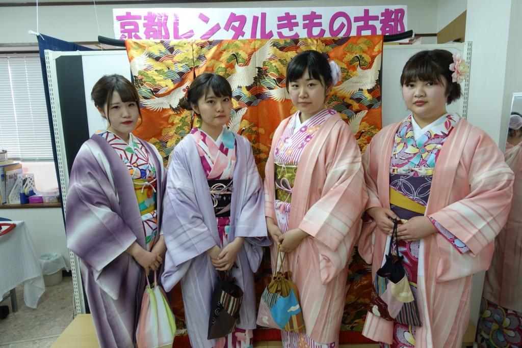 三年ぶりに皆で京都へ卒業旅行♪2017年2月27日18