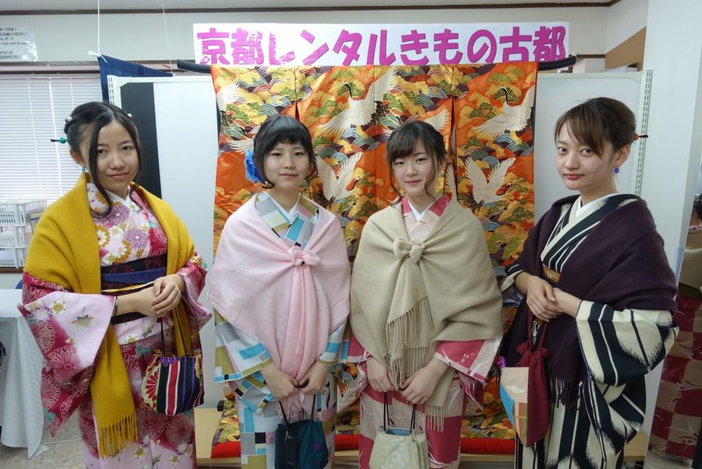 三年ぶりに皆で京都へ卒業旅行♪2017年2月27日6