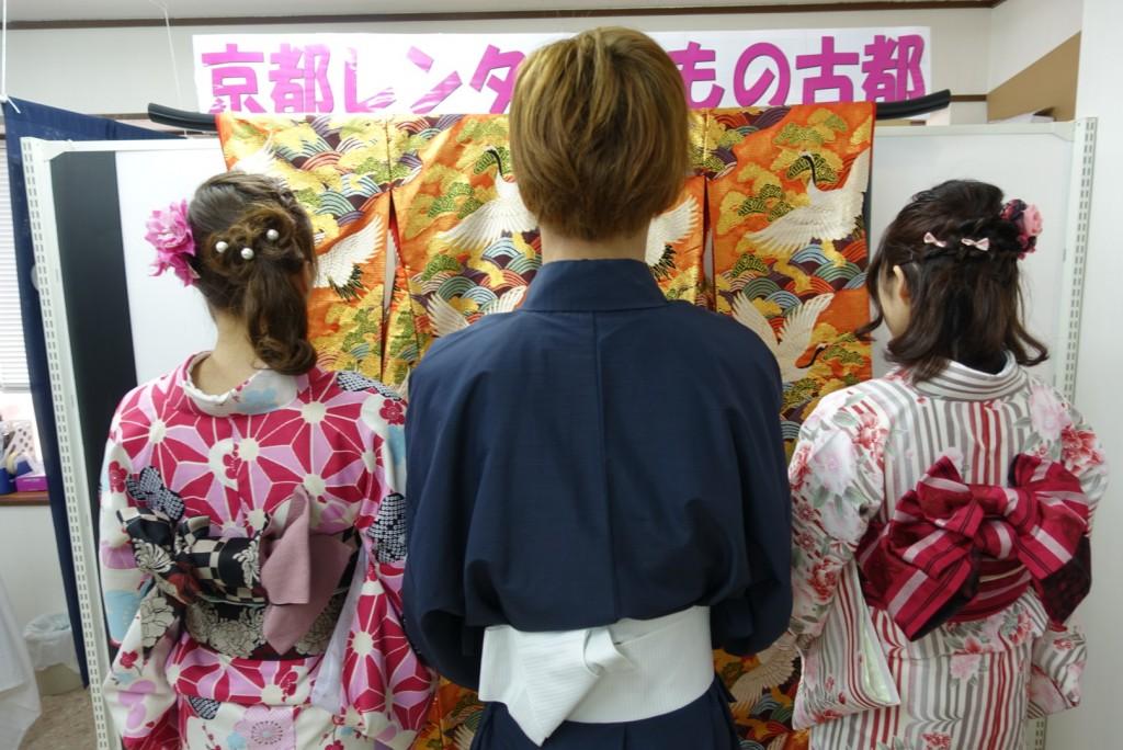 三年ぶりに皆で京都へ卒業旅行♪2017年2月27日11
