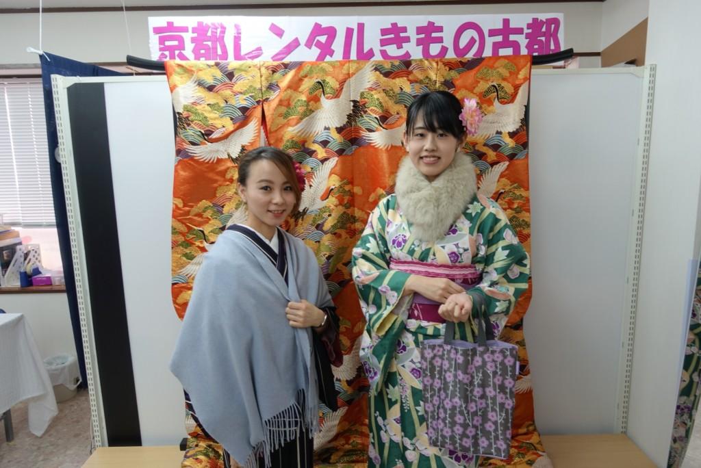三年ぶりに皆で京都へ卒業旅行♪2017年2月27日15