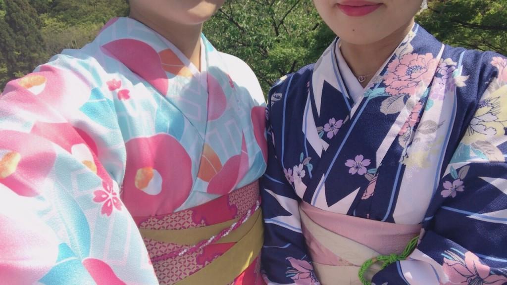 カップル❣人力車で京都東山散策♪2017年4月30日4
