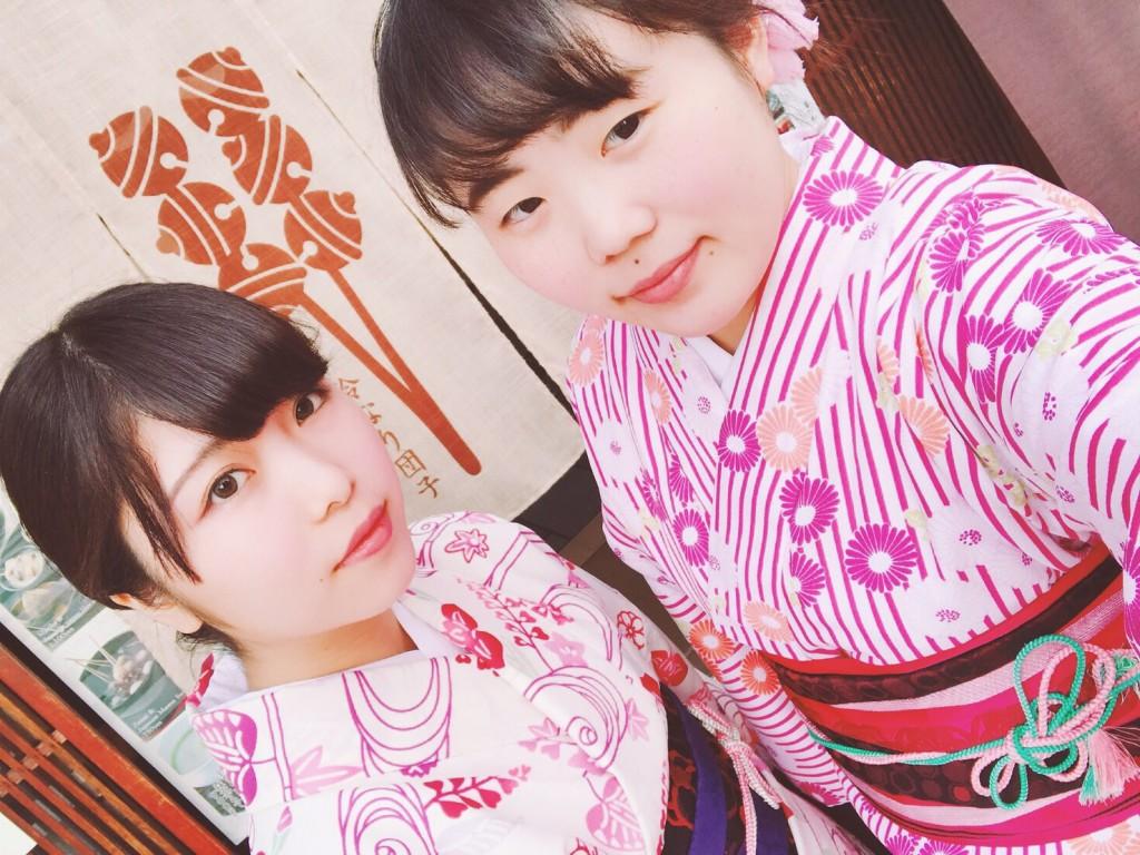 平日にゆったりと京都で着物レンタル2017年4月21日1