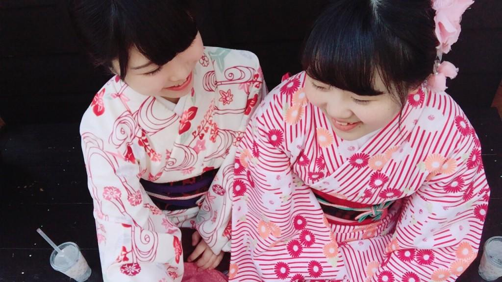 平日にゆったりと京都で着物レンタル2017年4月21日2