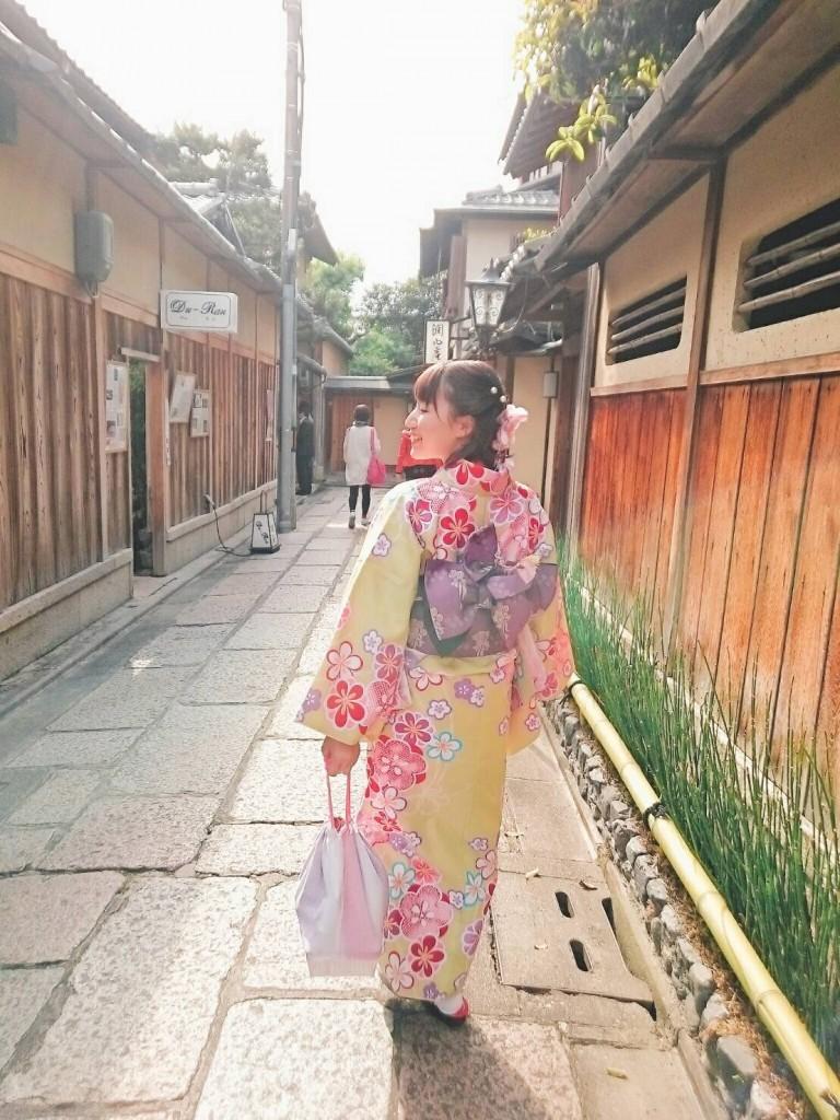 平日にゆったりと京都で着物レンタル2017年4月21日4