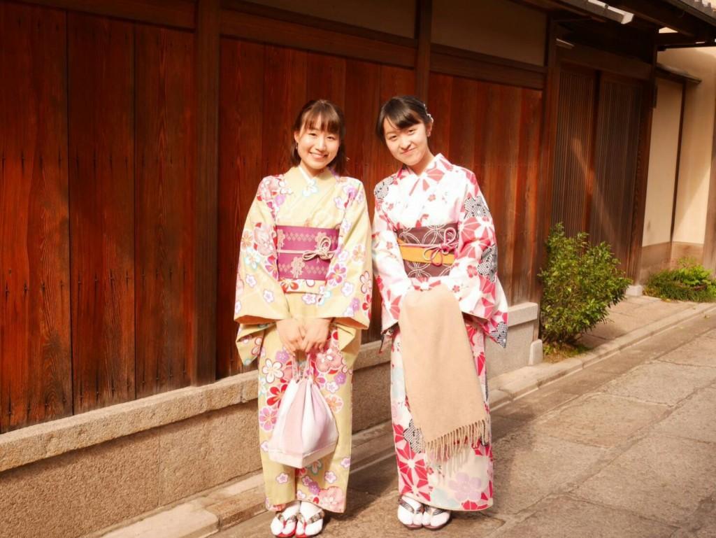 平日にゆったりと京都で着物レンタル2017年4月21日6