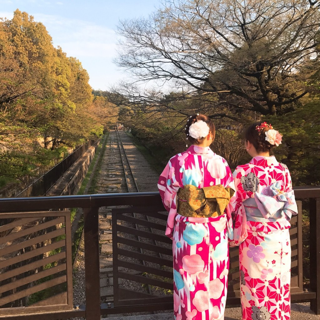 平日にゆったりと京都で着物レンタル2017年4月21日7