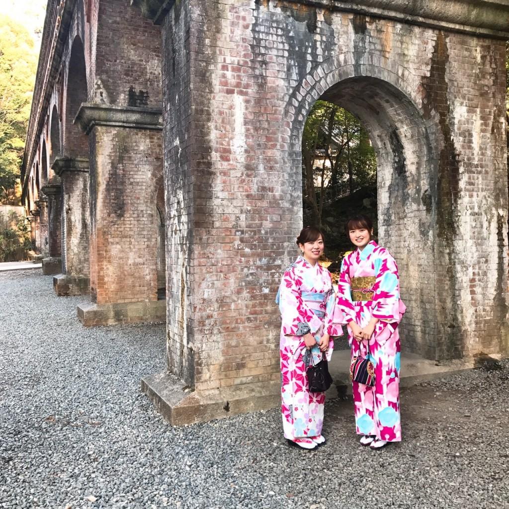 平日にゆったりと京都で着物レンタル2017年4月21日9