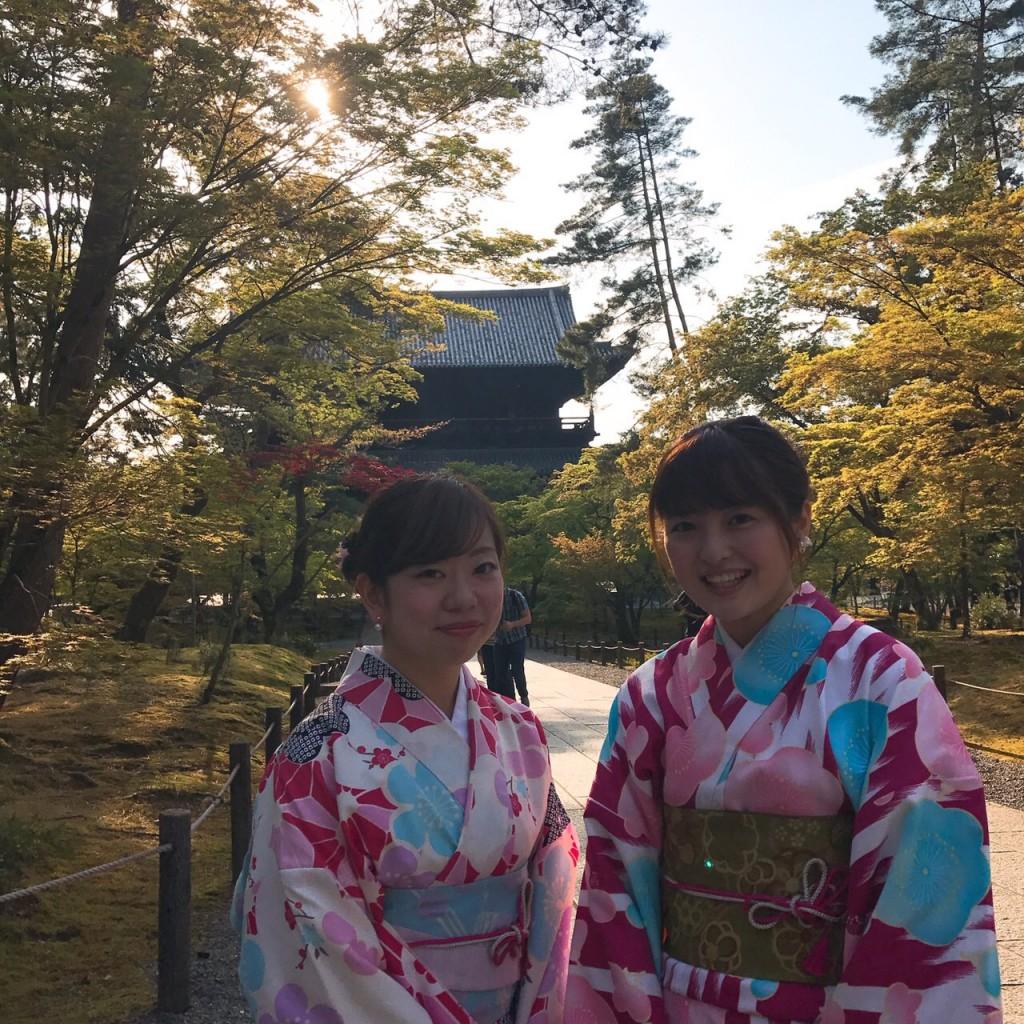 平日にゆったりと京都で着物レンタル2017年4月21日10