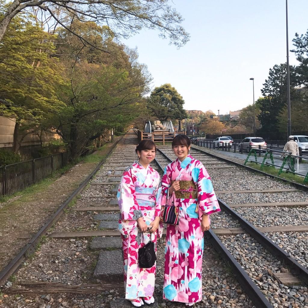 平日にゆったりと京都で着物レンタル2017年4月21日8