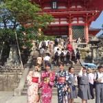 京都30℃超え真夏日☀浴衣レンタル始めちゃいました2017年5月20日7