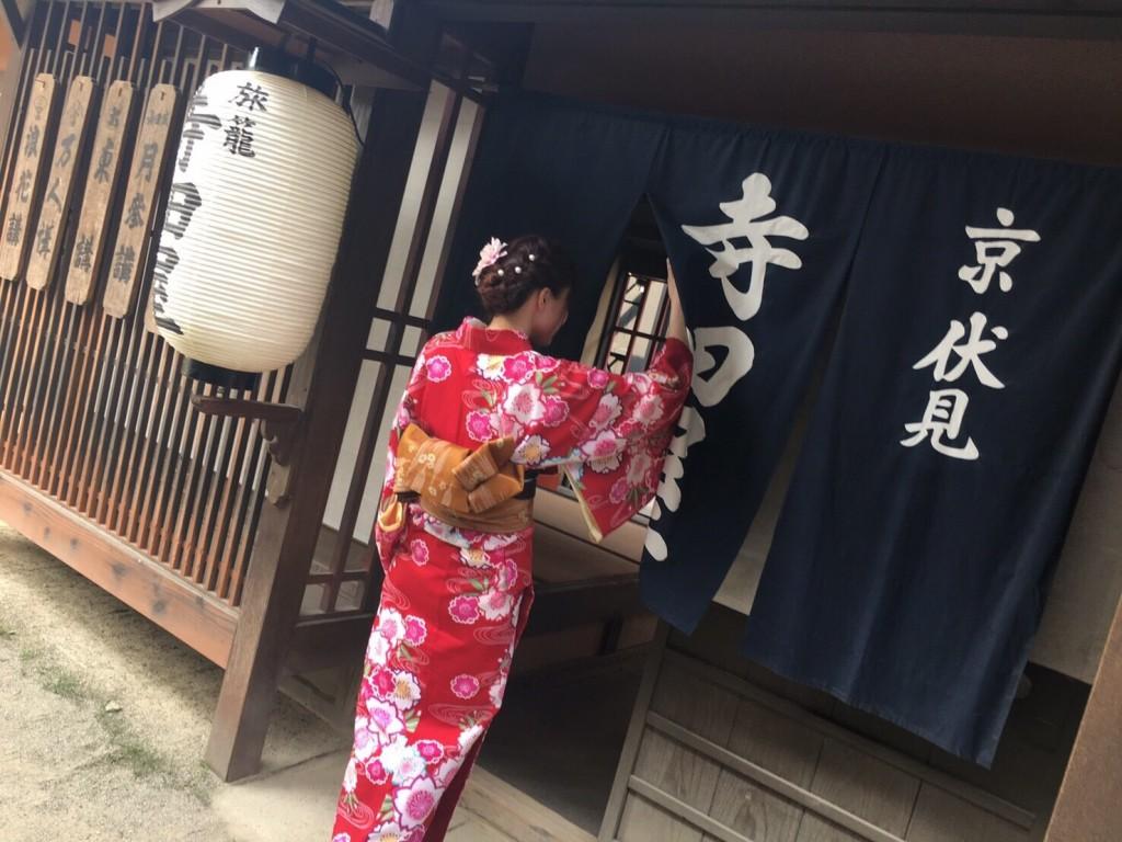 73系統バスで東映太秦映画村へ2017年5月30日5