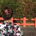 浴衣レンタルで藤森神社のあじさいを♪2017年6月13日4