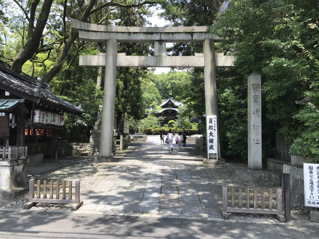 うさぎ神社として有名な「東天王 岡崎神社」1