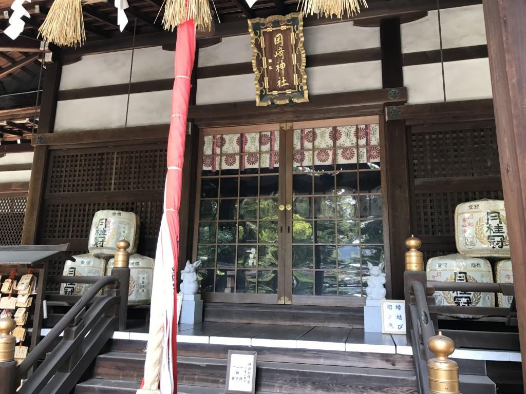 うさぎ神社として有名な「東天王 岡崎神社」4