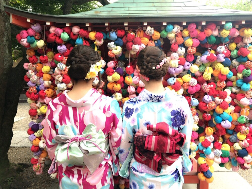 午後からお休み!岐阜から京都で着物レンタル!2017年6月22日2