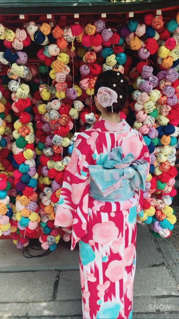 北海道から親子で嵐山へ❣2017年6月27日2
