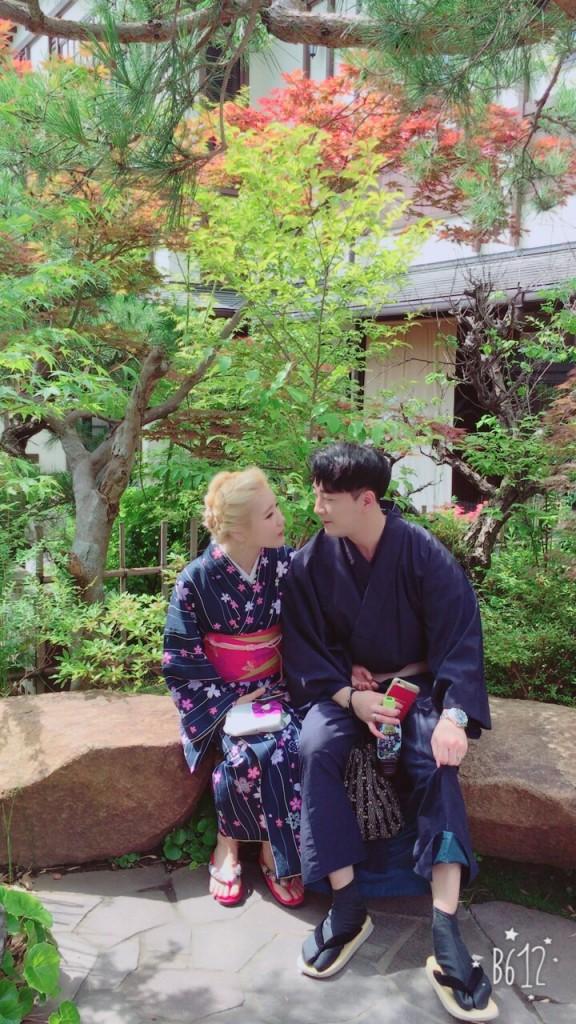 韓国から着物レンタルで八坂庚申堂へ♪2017年6月28日2