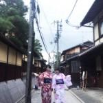 夏は京都で浴衣を着たい♪2017年7月7日1