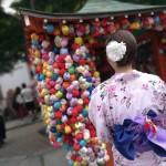 夏は京都で浴衣を着たい♪2017年7月7日6